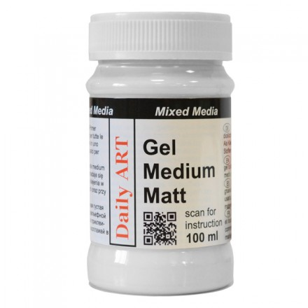 Διάφανο Gel Medium Matt DailyArt 100ml