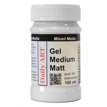 Διάφανο Gel Medium Matt DailyArt 100ml