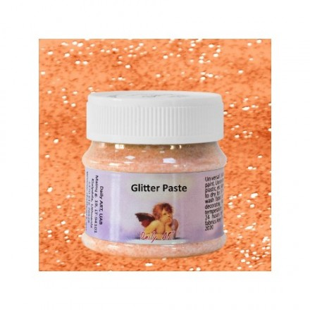 Glitter Paste DailyArt 50ml, Orange