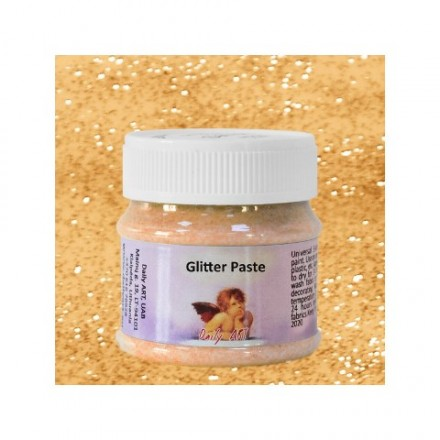 Glitter Paste DailyArt 50ml, Gold