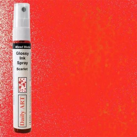 Mixed Media Glossy Ink Spray 30ml DailyArt, Aubergine