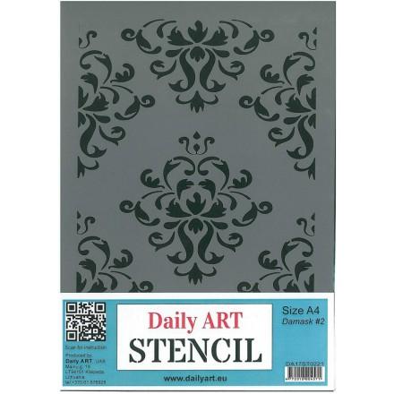 Στένσιλ (Stencil) DailyArt  μέγεθος A4 / DA17ST0221