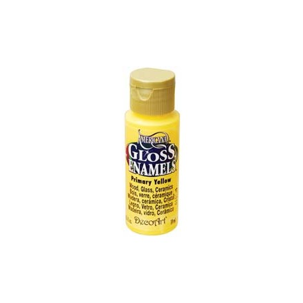 Americana Gloss Enamels 59ml - Primary Yellow