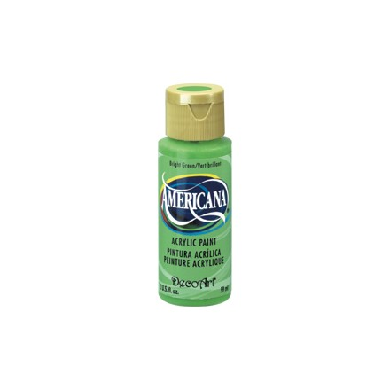 Americana Acrylics 59ml, Bright Green