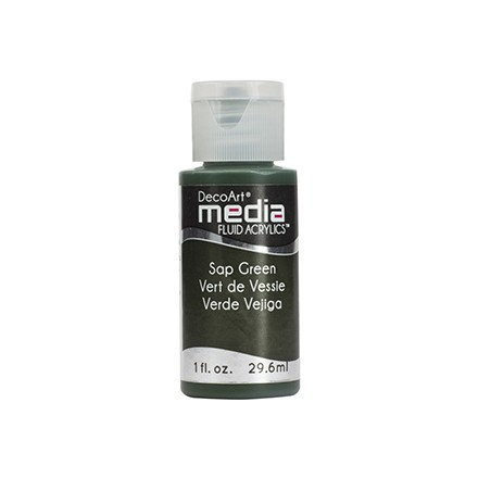 DecoArt Media Fluid Acrylics - Sap Green