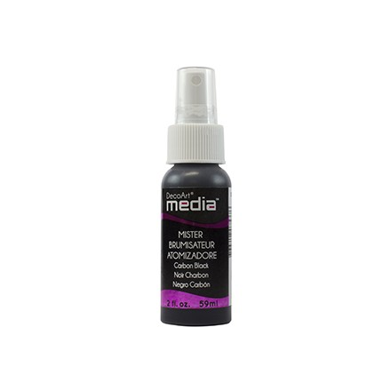Media Misters 59ml (DecoArt), Carbon Black