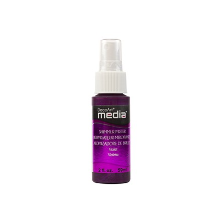 Media Misters 59ml (DecoArt), Shimmer Violet