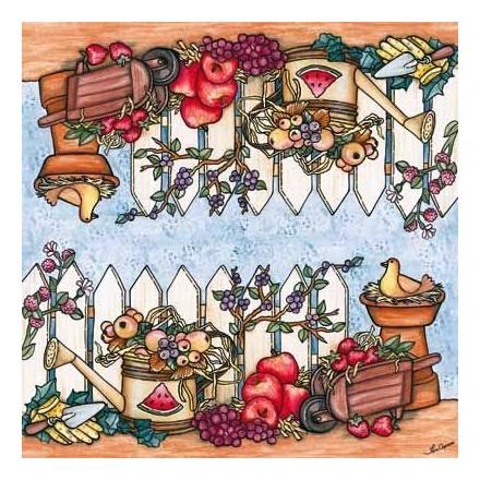 Χαρτοπετσέτα για Decoupage - Frutas