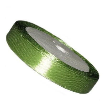 Κορδέλα Satin 6.5mm (~13.5m) - Olive