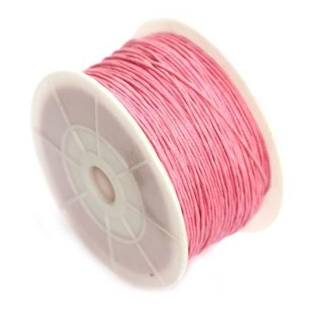 Βαμβακερό Κορδόνι 0.8mm (~ 80-90m) - Pink