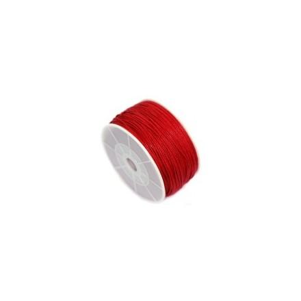 Βαμβακερό Κορδόνι 0.8mm (~ 80-90m) - Red