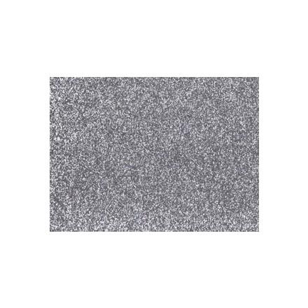 Αφρώδες (Foam) με Glitter 60x40cm, 2mm - Silver