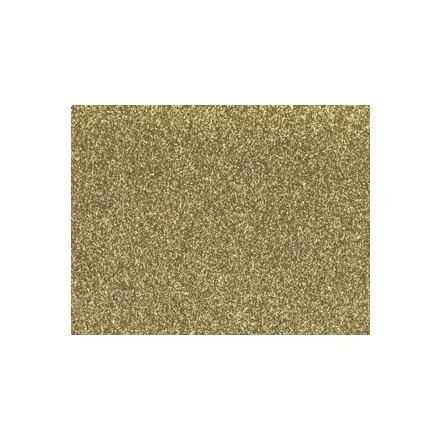 Αφρώδες (Foam) με Glitter 60x40cm, 2mm - Gold