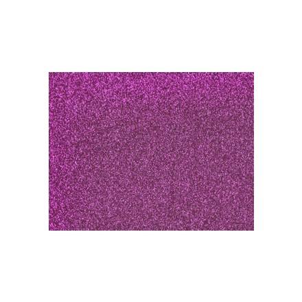 Αφρώδες (Foam) με Glitter 60x40cm, 2mm - Fuxia