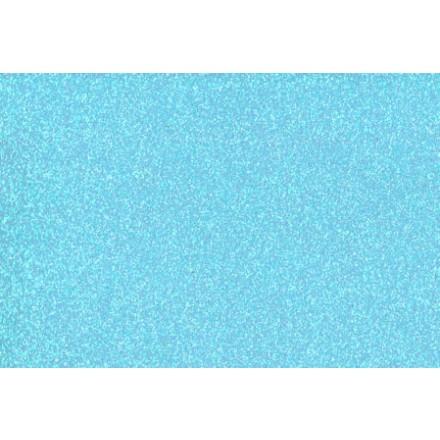 Αφρώδες (Foam) με Glitter 60x40cm, 2mm - Baby Blue
