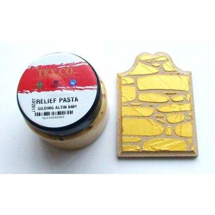 TEX.CO Χρυσή Πάστα (Gold Paste) 140ml