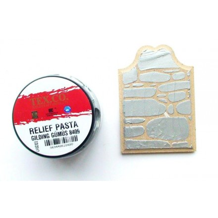 TEX.CO Ασημί Πάστα (Silver Paste) 140ml