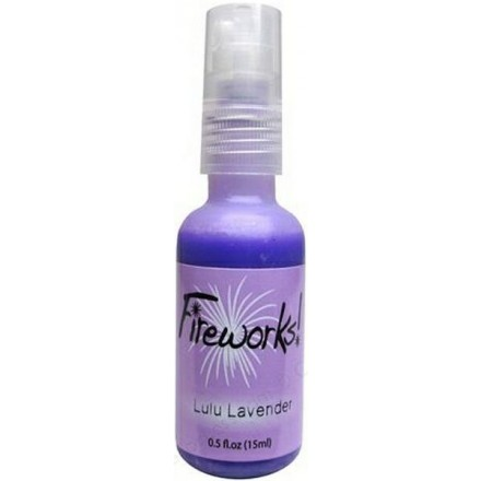 Mists Memento Fireworks Spray Ink 15ml (Tsukineko), Lulu Lavender
