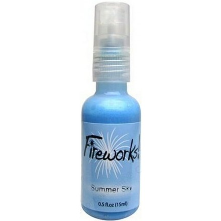 Mists Memento Fireworks Spray Ink 15ml (Tsukineko), Summer Sky