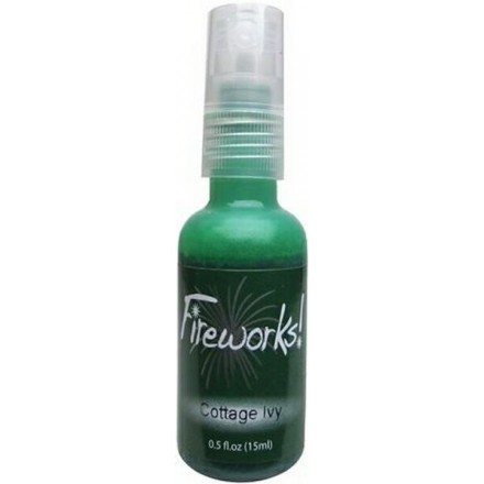 Mists Memento Fireworks Spray Ink 15ml (Tsukineko), Cottage Ivy