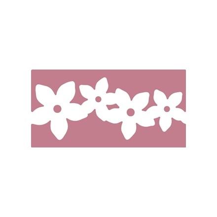 Κοπτικό Decorative Border Punch XL Flower Chain (6.3cm x 2.95cm)