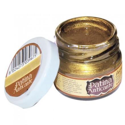 Patina Anticante Stamperia 20ml, Gold