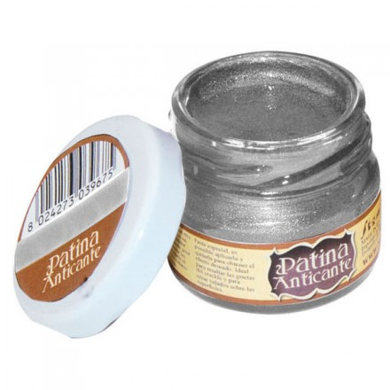 Patina Anticante Stamperia 20ml, Silver