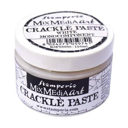 Mix Media Crackle Paste 150ml, Stamperia