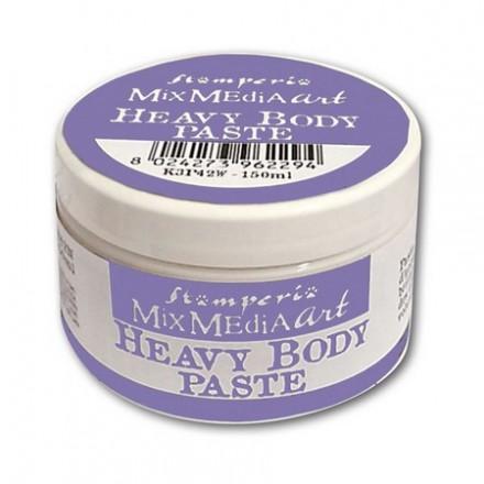 Heavy body paste Stamperia 150ml White