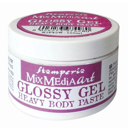 Glossy Gel Heavy Body Paste Stamperia 150ml