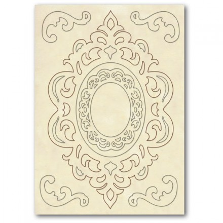Wooden frames Stamperia A5 size, Friezes and corners