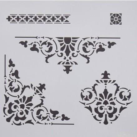 Στένσιλ (Stencil) Decostar 25x25cm / KO011