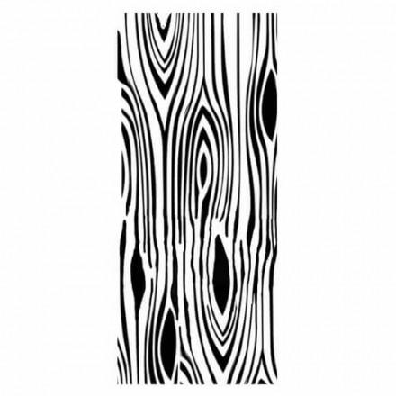 Thick Stencil 12x25cm, Stamperia, Wood imitation