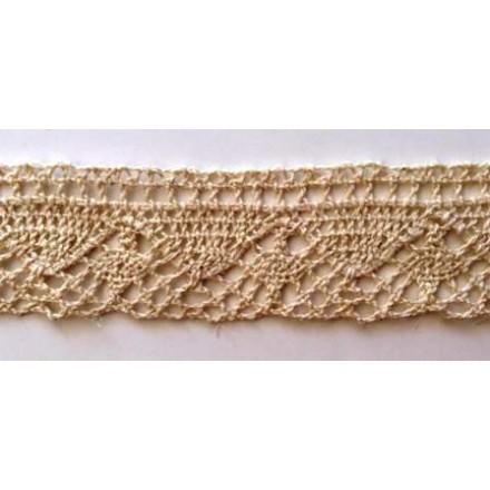 Δαντέλα Βαμβακερή Εκρού (3cm x 1m)