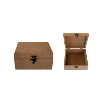 MDF Κουτί 16x16x8cm, Ελληνικό προϊόν