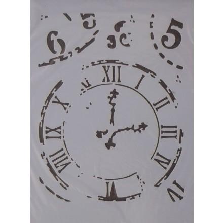 Στένσιλ (Stencil) Decostar 21x30cm / MIX001