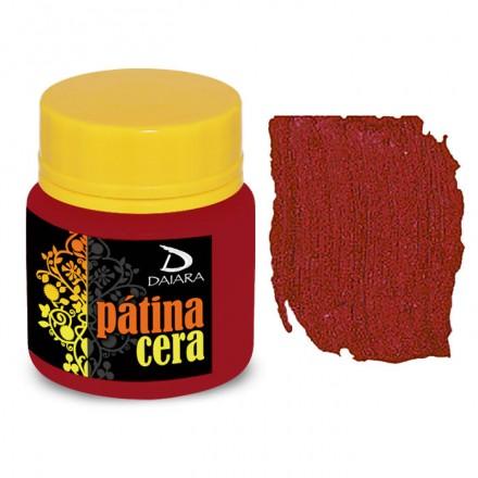 Pátina Cera Satin Daiara 40gr (Πατίνα Κεριού για παλαίωση και για την τεχνική του Κρακελέ) - Vermelho