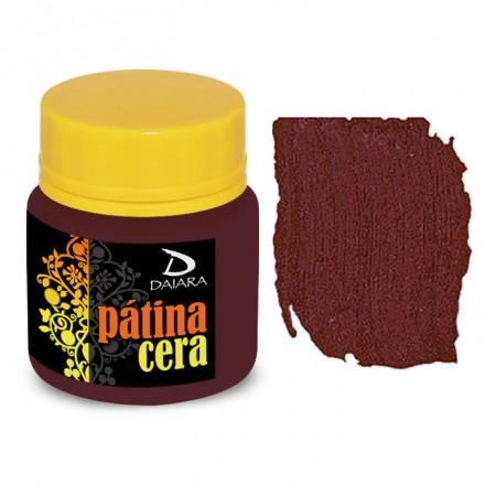 Pátina Cera Satin Daiara 40gr (Πατίνα Κεριού για παλαίωση και για την τεχνική του Κρακελέ) - Bordo