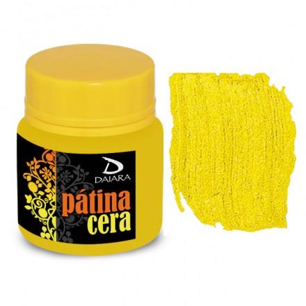 Pátina Cera Satin Daiara 40gr (Πατίνα Κεριού για παλαίωση και για την τεχνική του Κρακελέ) - Amarelo