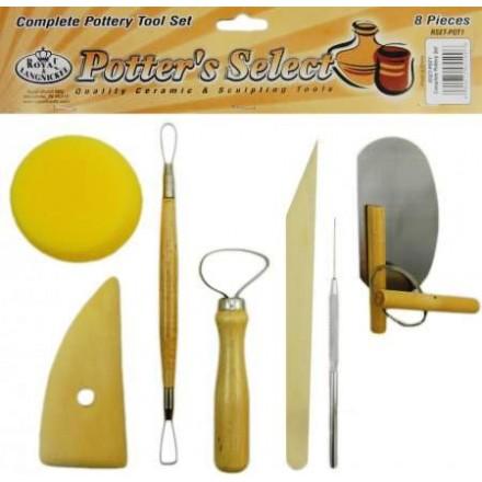 Σετ Εργαλεία για πηλό (8 τεμ)