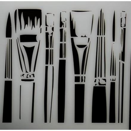 Stencil 25x25cm