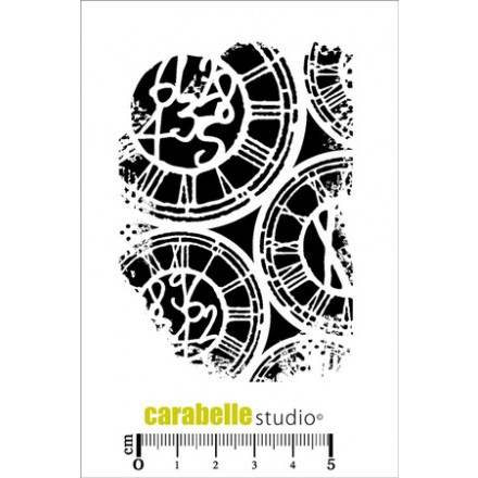 Foam Backing Σφραγίδα Σιλικόνης 6.5cm x 9cm - Texture Horloge