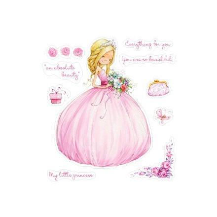 Σφραγίδα Σιλικόνης (10 x 11cm) - Little Princess