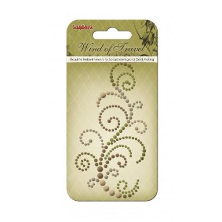 Pearls Swirl (Curls Wind of Travel)