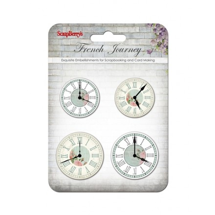 Διπλόκαρφα (Set of clocks, 4τεμ)