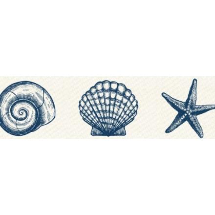 Αυτοκόλλητη Ταινία (Sea-Shells Print - 15mm x 8m)
