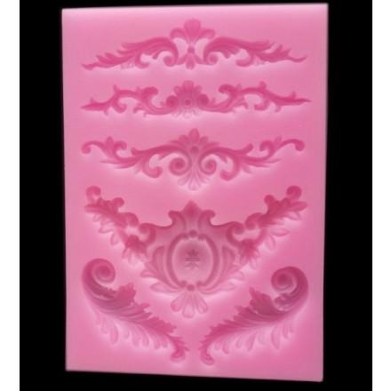 Καλούπι Σιλικόνης 13 x 9 x 0.9cm, 3D Flower Laces