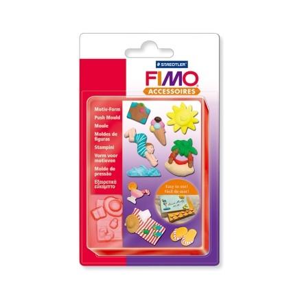 Εξαιρετικά εύκαμπτο καλούπι Fimo Push Mould - Holiday