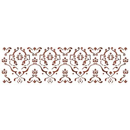 Στένσιλ (Stencil) Litoarte 8.4x28.5cm / STE-108