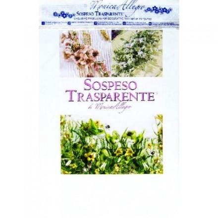 Ζελατίνες λευκές για Sospeso Trasparente (4 φύλλα)